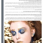 etincelante tentation magazine model interview Wesley Hilton makeup