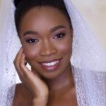 dark skin bridal makeup look