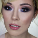 russian colorful eye makeup - bridal makeup