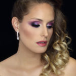 purple eye makeup - russian makeup technique